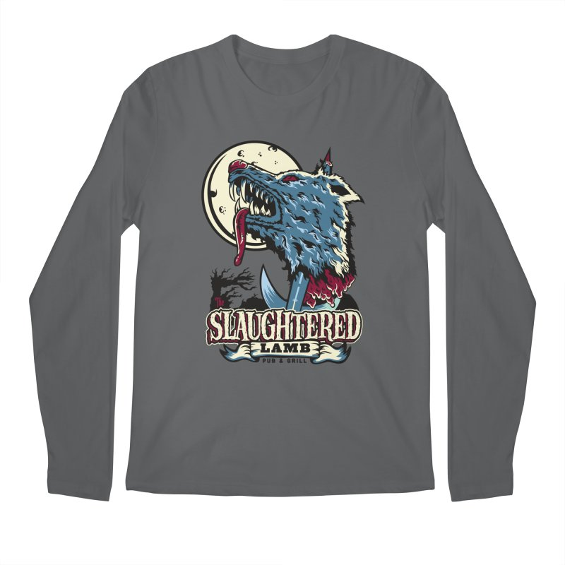 Slaughtered Lamb Men's Longsleeve T-Shirt by malgusto