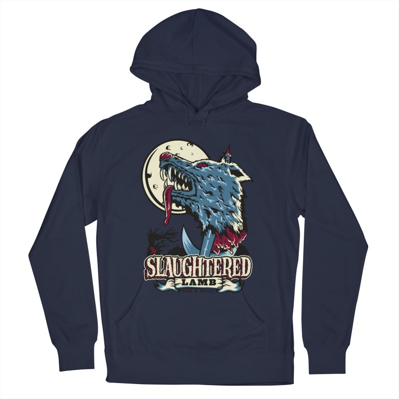 Slaughtered Lamb Women's French Terry Pullover Hoody by malgusto