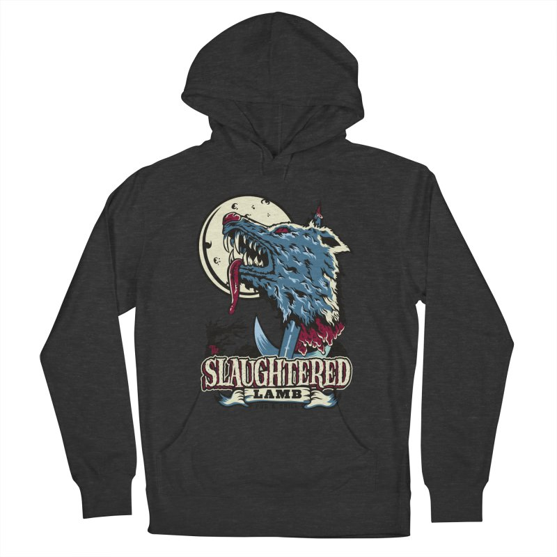 Slaughtered Lamb Men's French Terry Pullover Hoody by malgusto