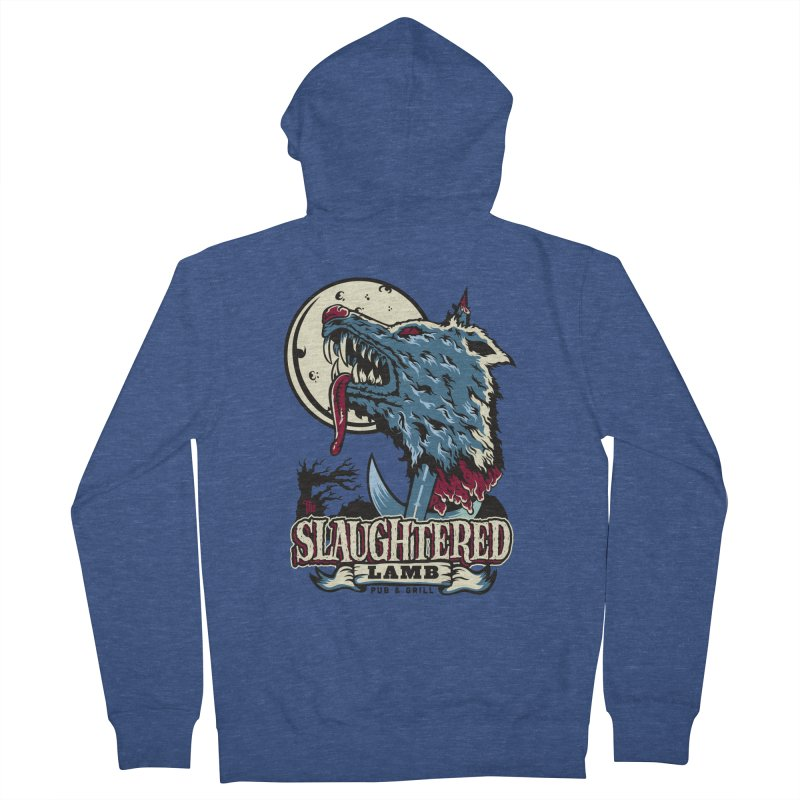 Slaughtered Lamb Women's French Terry Zip-Up Hoody by malgusto