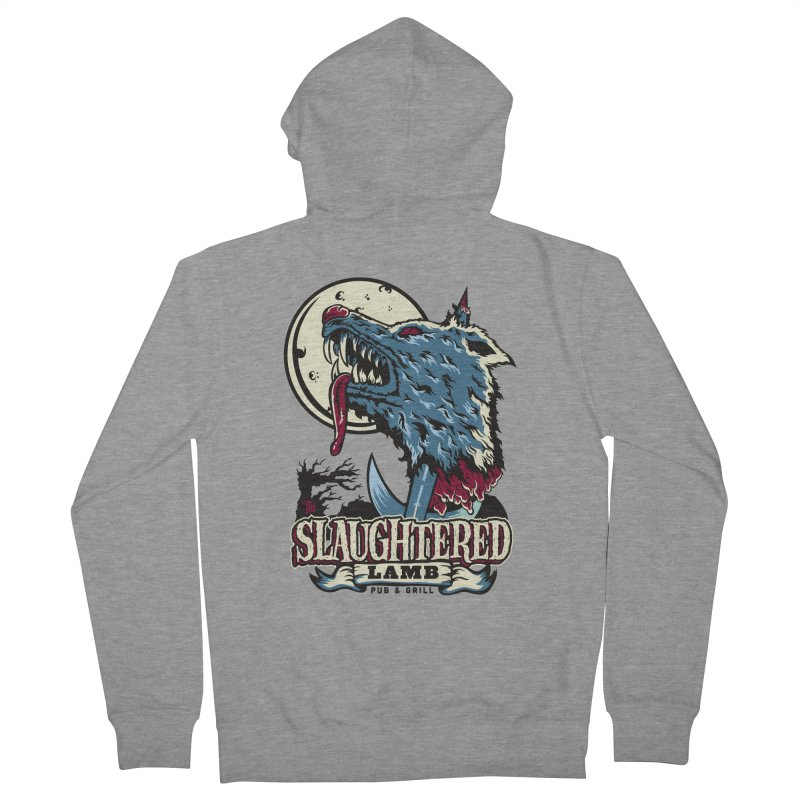 Slaughtered Lamb Men's Zip-Up Hoody by malgusto