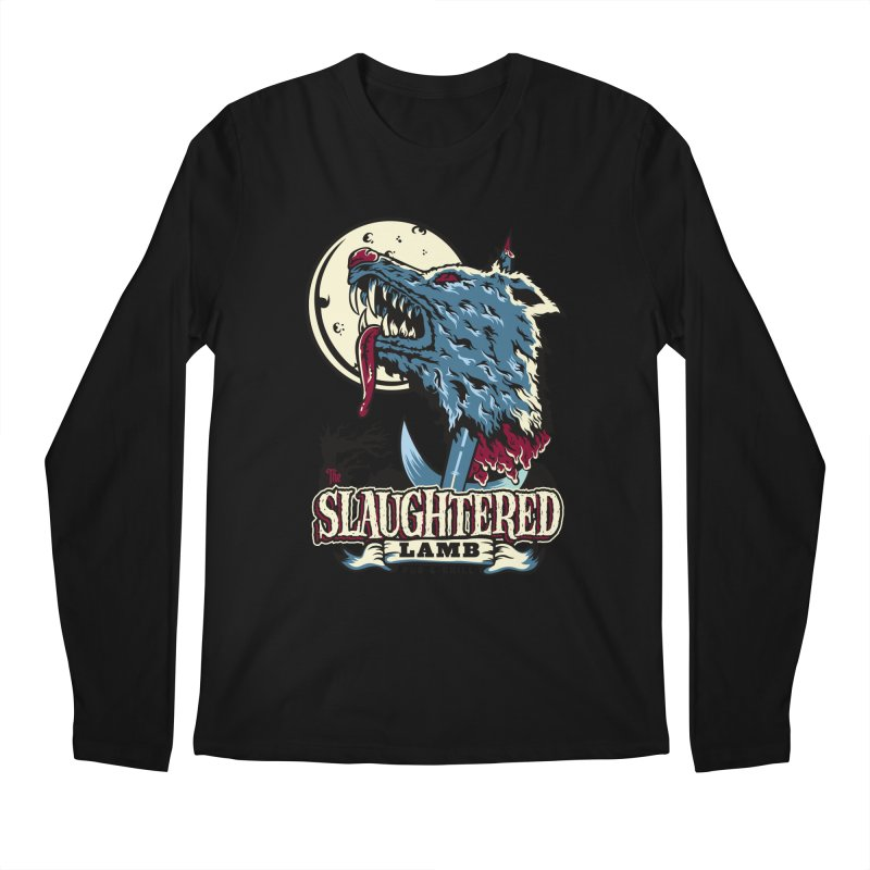 Slaughtered Lamb Men's Regular Longsleeve T-Shirt by malgusto