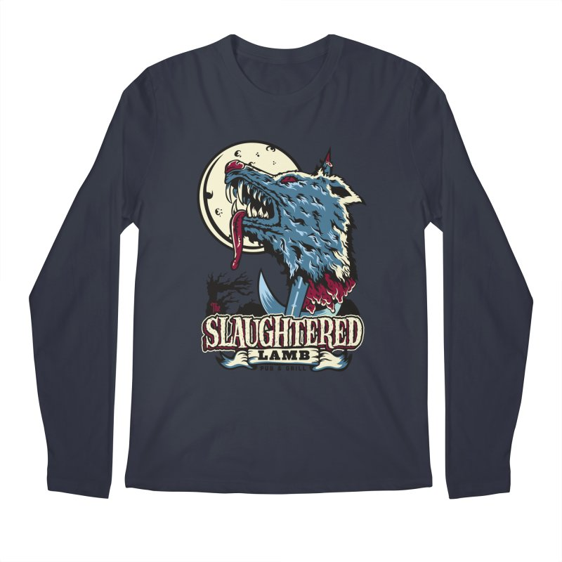 Slaughtered Lamb Men's Regular Longsleeve T-Shirt by malgusto