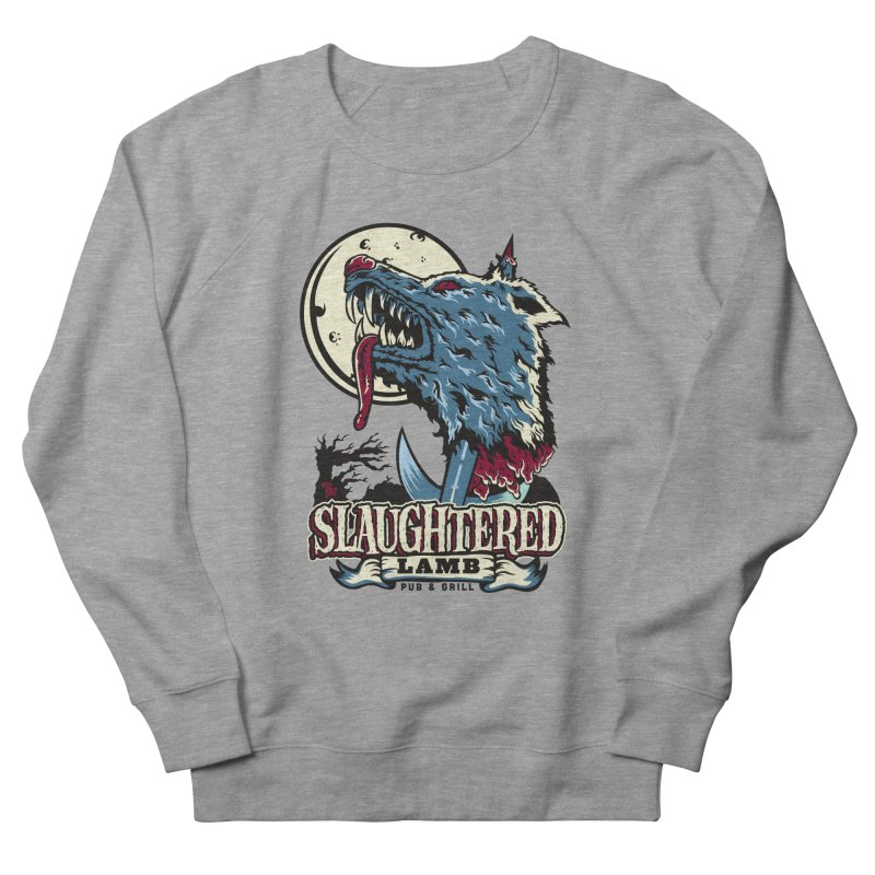 Slaughtered Lamb Men's French Terry Sweatshirt by malgusto