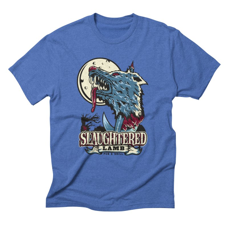 Slaughtered Lamb Men's Triblend T-Shirt by malgusto