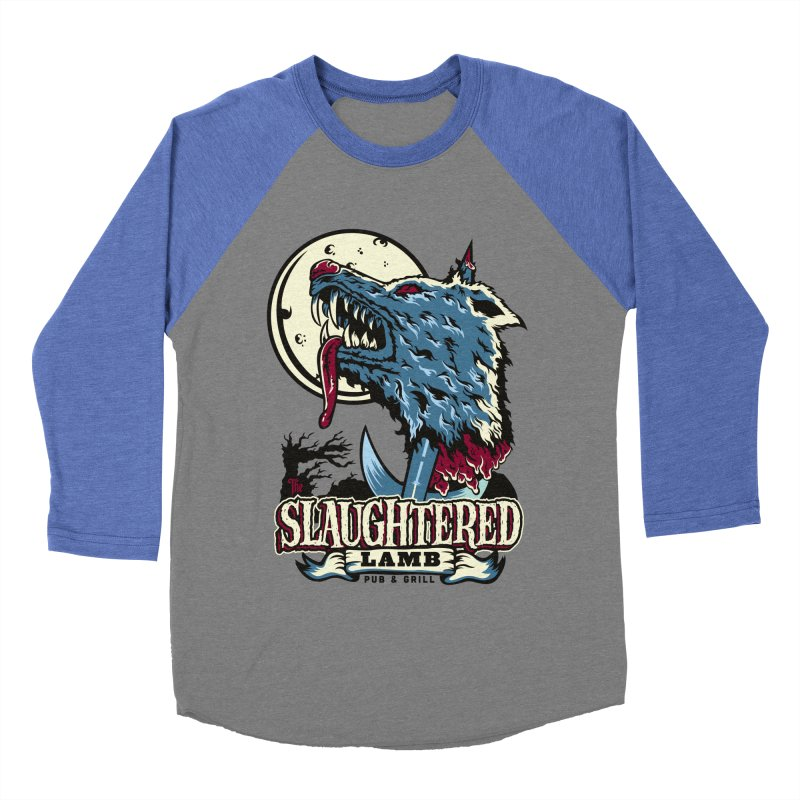 Slaughtered Lamb Women's Baseball Triblend Longsleeve T-Shirt by malgusto
