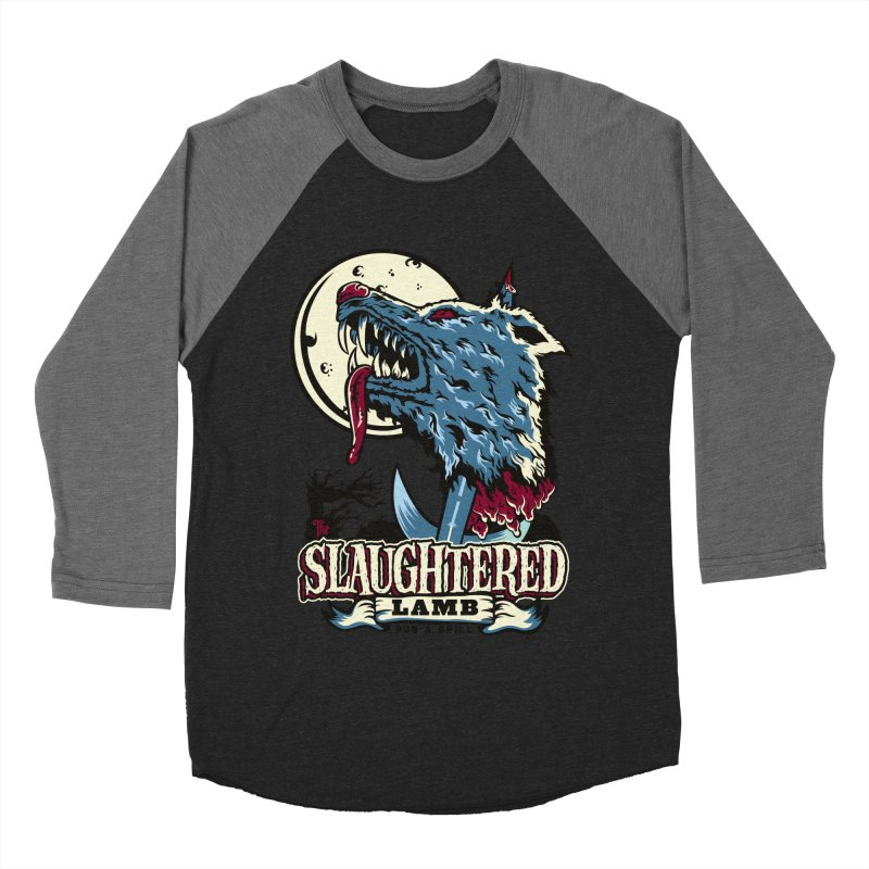 Slaughtered Lamb Women's Baseball Triblend T-Shirt by malgusto