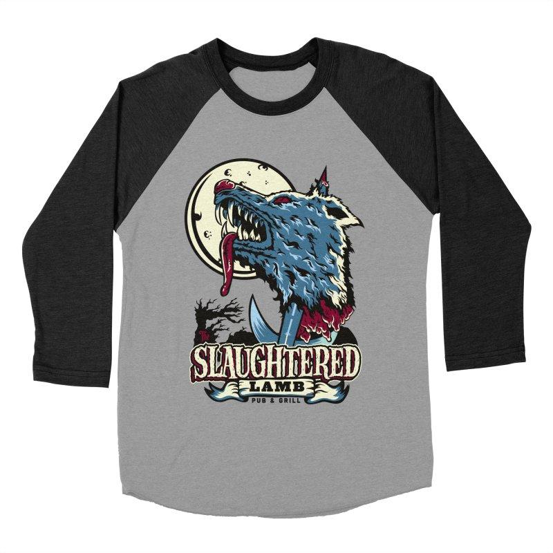 Slaughtered Lamb Men's Baseball Triblend Longsleeve T-Shirt by malgusto