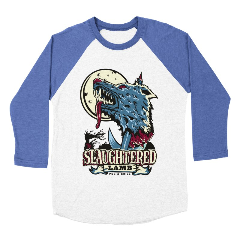 Slaughtered Lamb Men's Baseball Triblend T-Shirt by malgusto