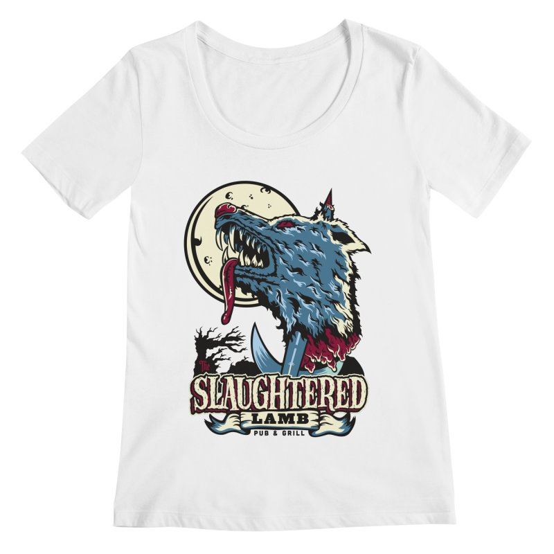 Slaughtered Lamb Women's Regular Scoop Neck by malgusto
