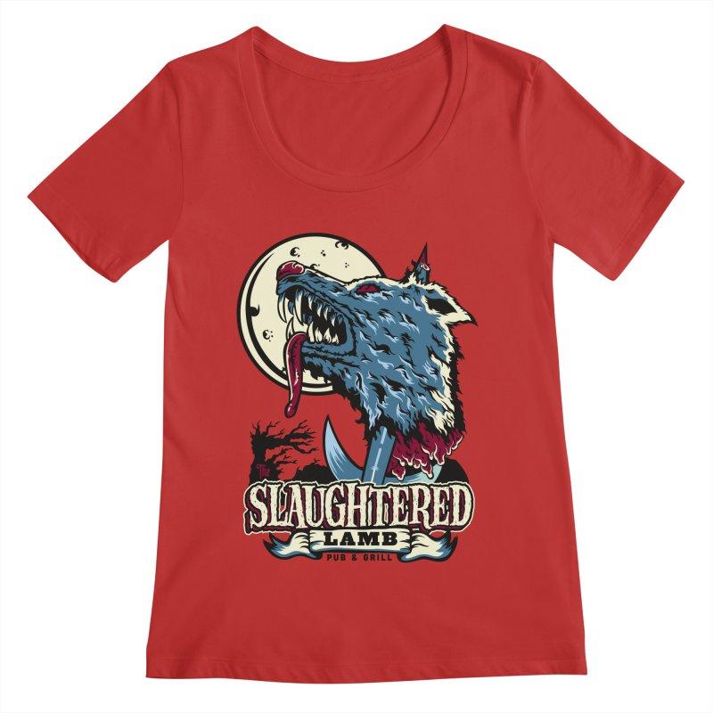 Slaughtered Lamb Women's Regular Scoop Neck by malgusto