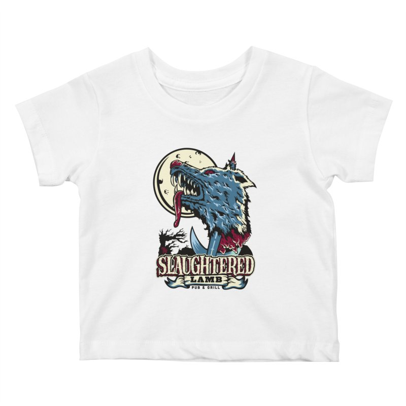 Slaughtered Lamb Kids Baby T-Shirt by malgusto