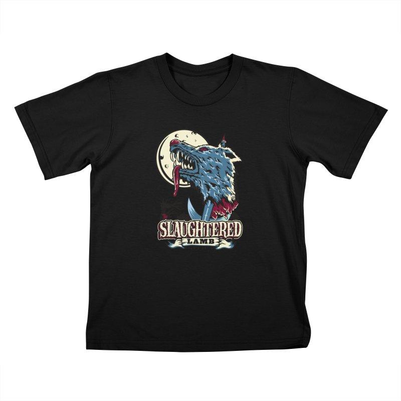 Slaughtered Lamb Kids T-Shirt by malgusto