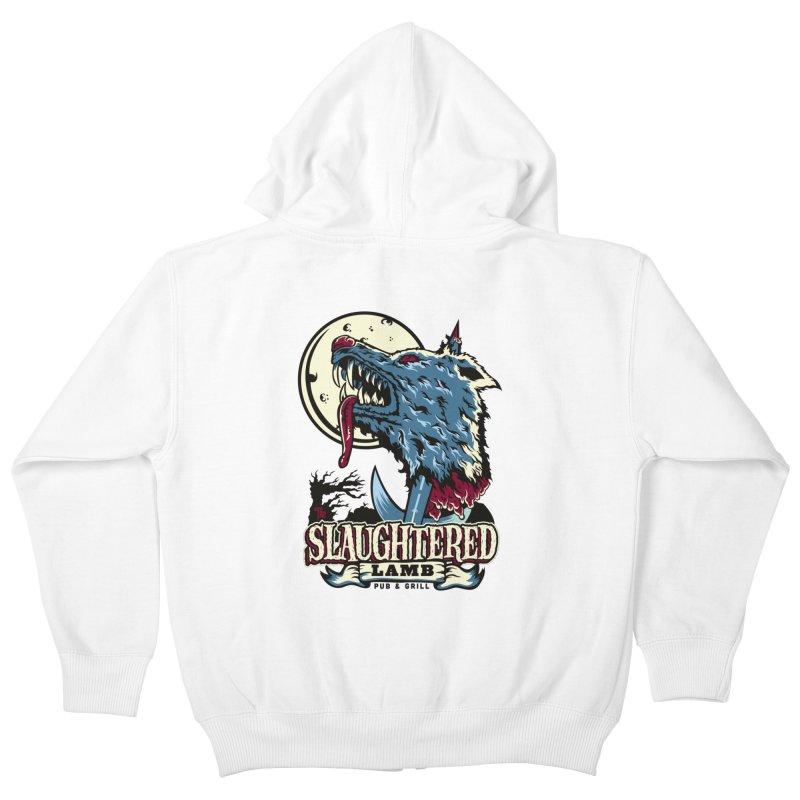 Slaughtered Lamb Kids Zip-Up Hoody by malgusto