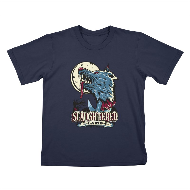 Slaughtered Lamb Kids T-Shirt by malgusto