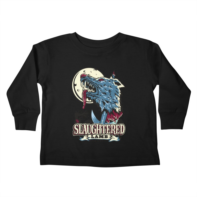 Slaughtered Lamb Kids Toddler Longsleeve T-Shirt by malgusto