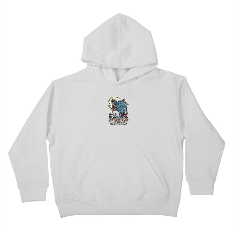 Slaughtered Lamb Kids Pullover Hoody by malgusto