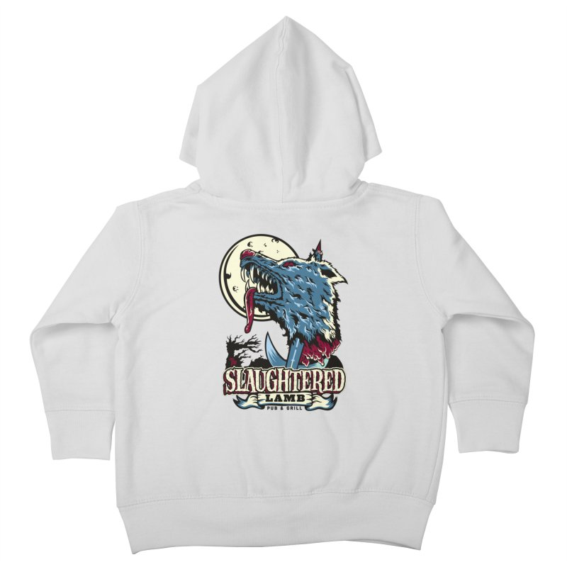 Slaughtered Lamb Kids Toddler Zip-Up Hoody by malgusto