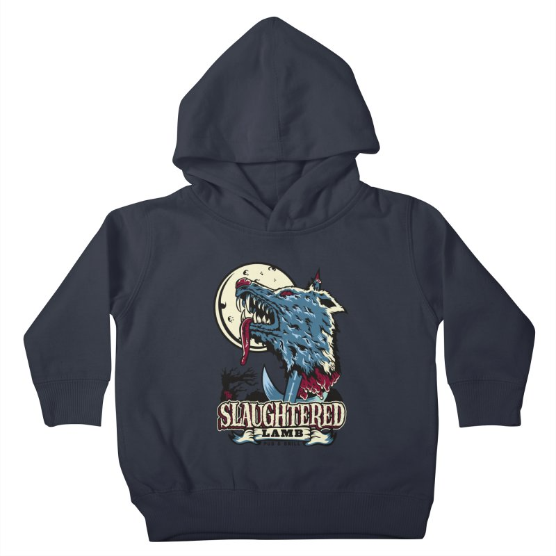 Slaughtered Lamb Kids Toddler Pullover Hoody by malgusto