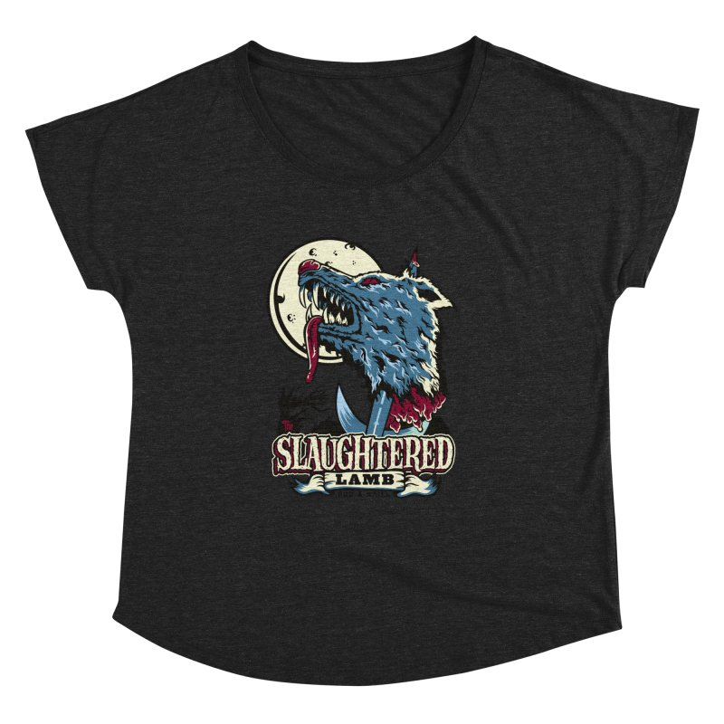 Slaughtered Lamb Women's Dolman Scoop Neck by malgusto