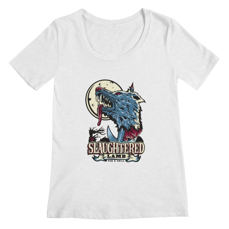 Slaughtered Lamb Women's Scoop Neck by malgusto