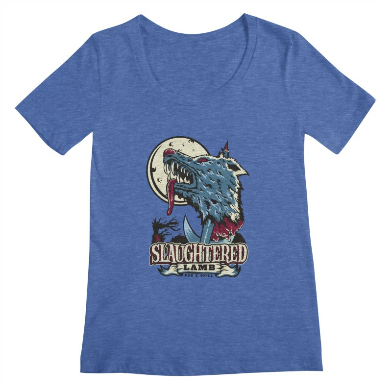 Slaughtered Lamb Women's Scoopneck by malgusto