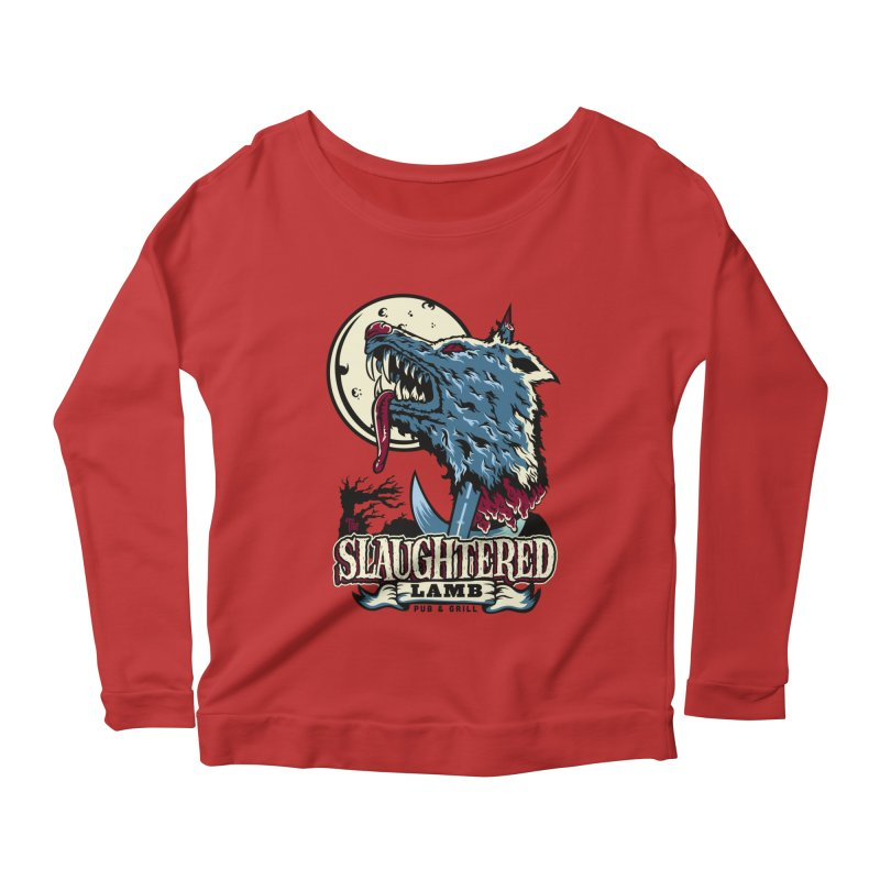 Slaughtered Lamb Women's Scoop Neck Longsleeve T-Shirt by malgusto