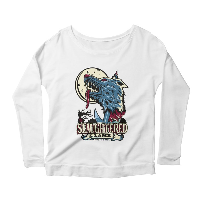 Slaughtered Lamb Women's Longsleeve Scoopneck  by malgusto