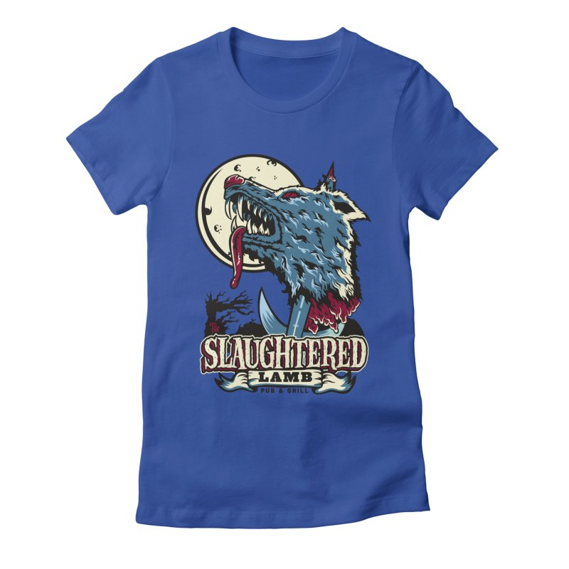 Slaughtered Lamb Women's Fitted T-Shirt by malgusto