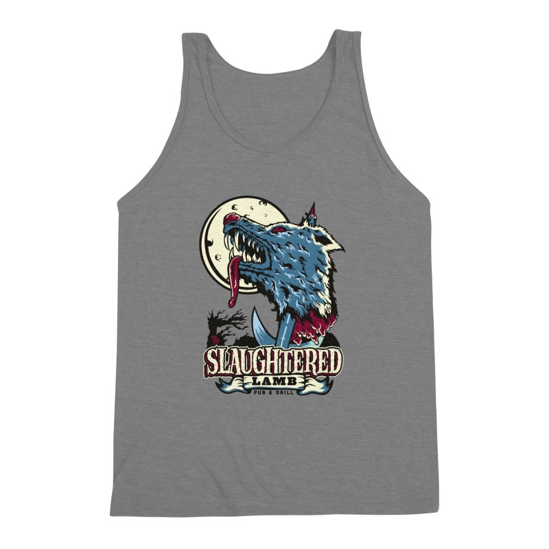 Slaughtered Lamb Men's Triblend Tank by malgusto