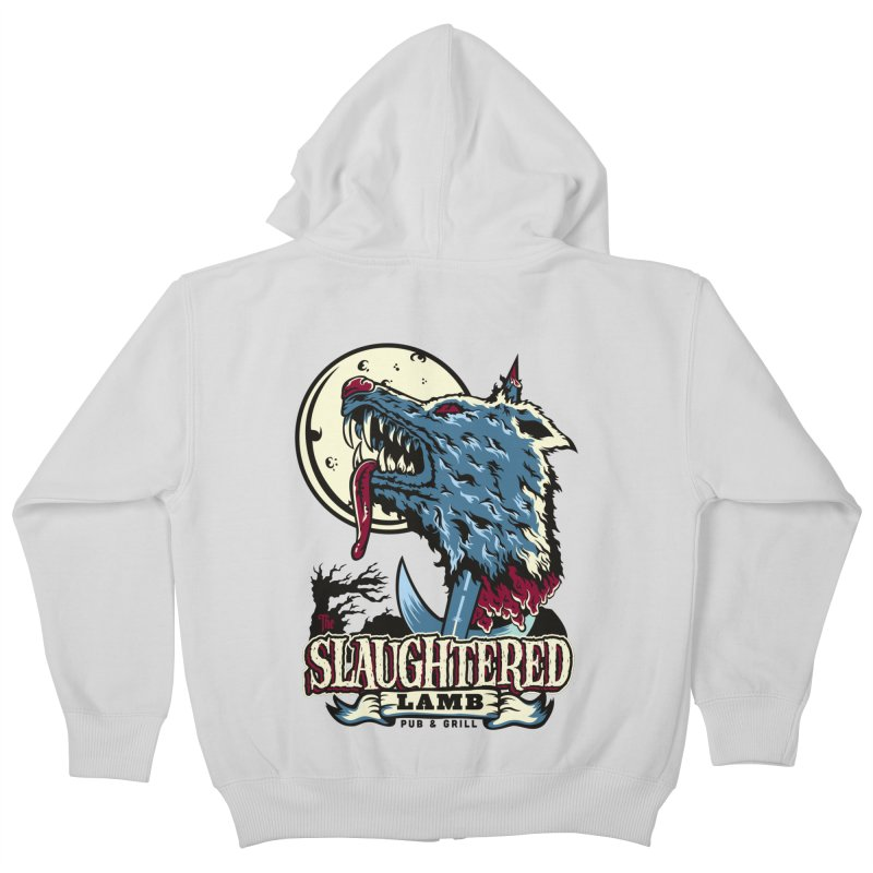 Slaughtered Lamb Kids Zip-Up Hoody by malgusto