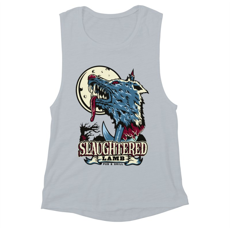 Slaughtered Lamb Women's Muscle Tank by malgusto