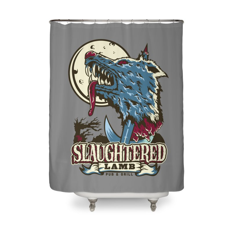 Slaughtered Lamb Home Shower Curtain by malgusto