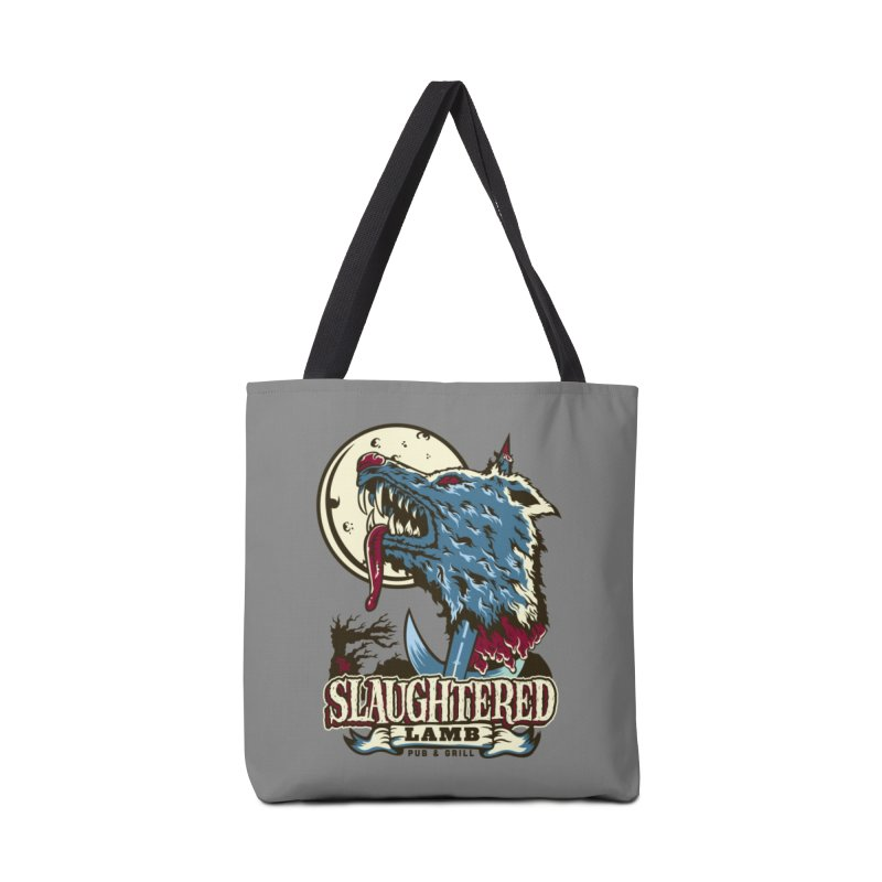 Slaughtered Lamb Accessories Tote Bag Bag by malgusto