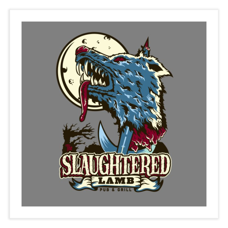 Slaughtered Lamb Home Fine Art Print by malgusto