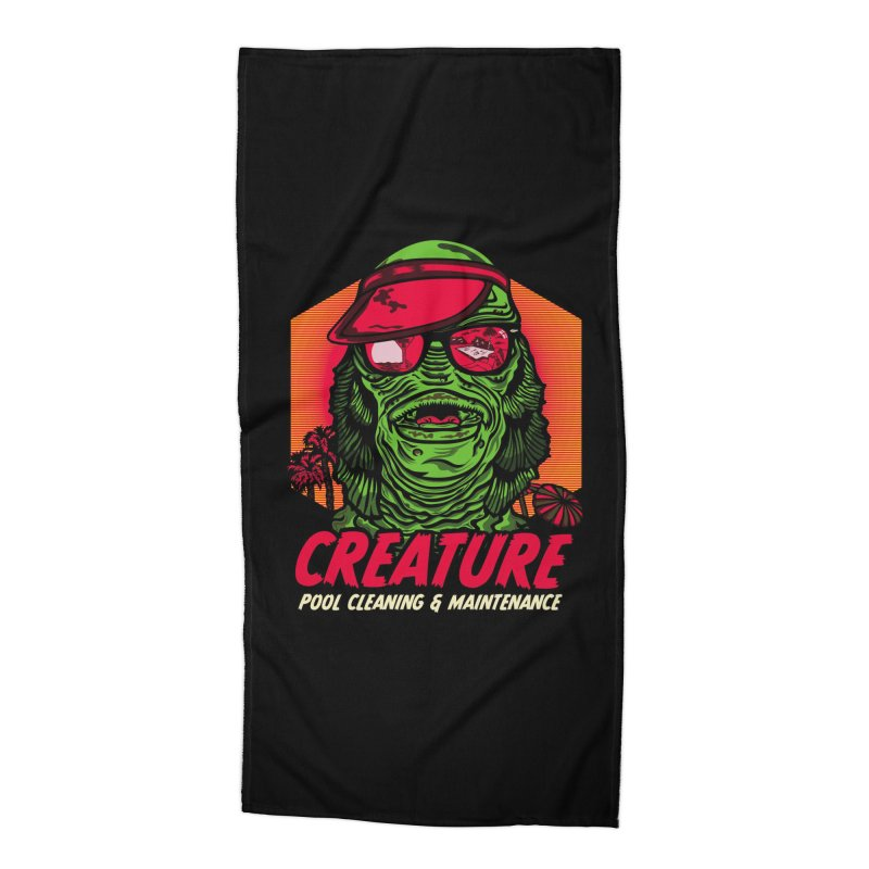 Creature Accessories Beach Towel by malgusto