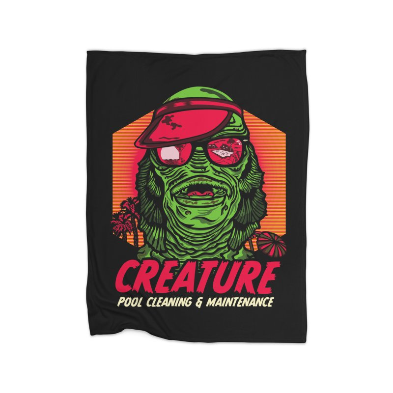 Creature Home Fleece Blanket Blanket by malgusto