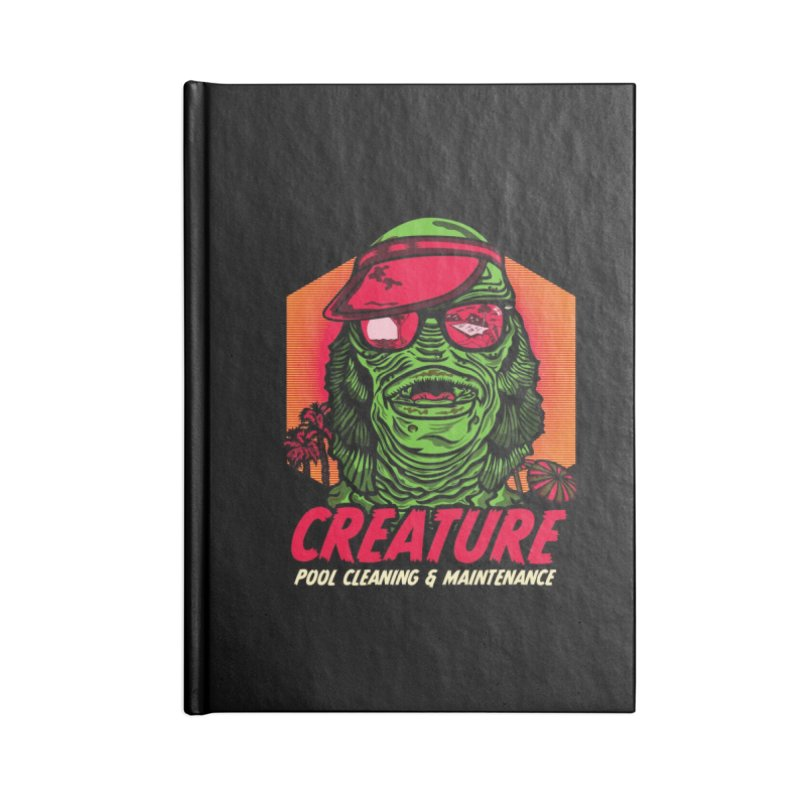 Creature Accessories Lined Journal Notebook by malgusto