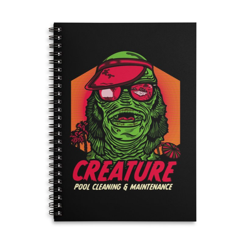 Creature Accessories Lined Spiral Notebook by malgusto