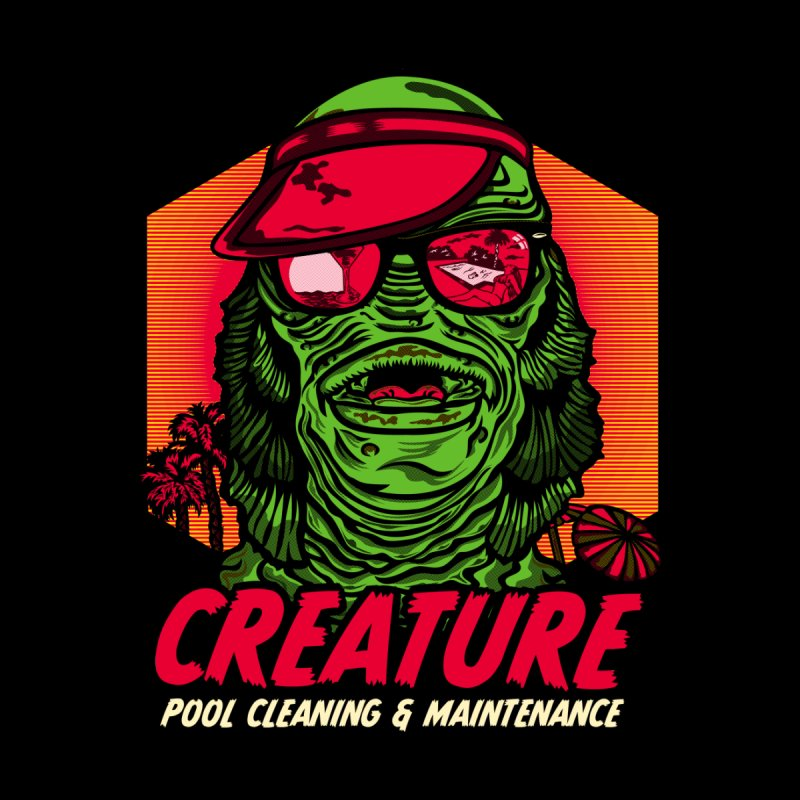 Creature Men's T-Shirt by malgusto