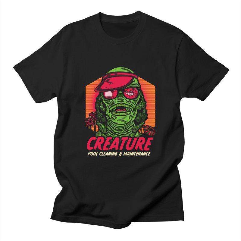 Creature Men's T-Shirt by malgusto