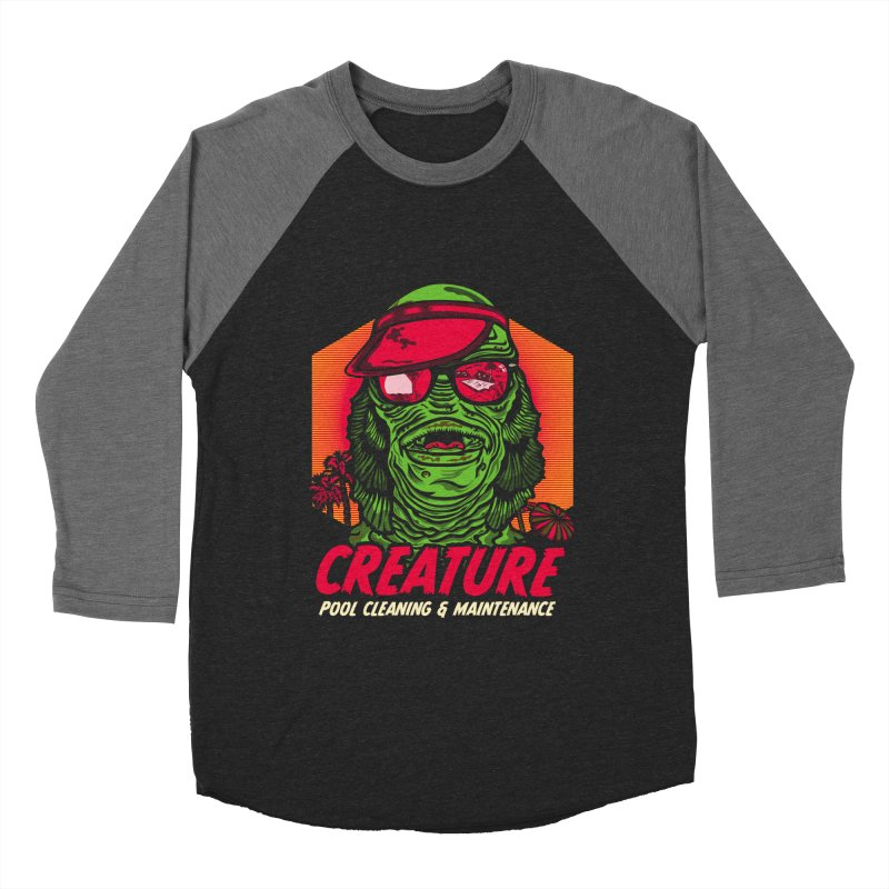 Creature Men's Baseball Triblend T-Shirt by malgusto