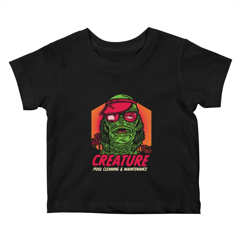 Creature Kids Baby T-Shirt by malgusto
