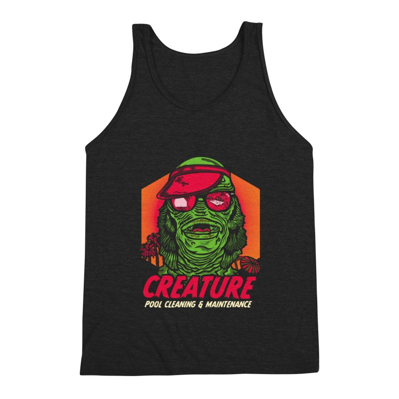 Creature Men's Triblend Tank by malgusto