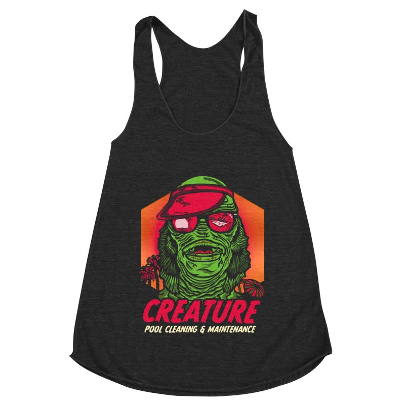 Creature Women's Racerback Triblend Tank by malgusto