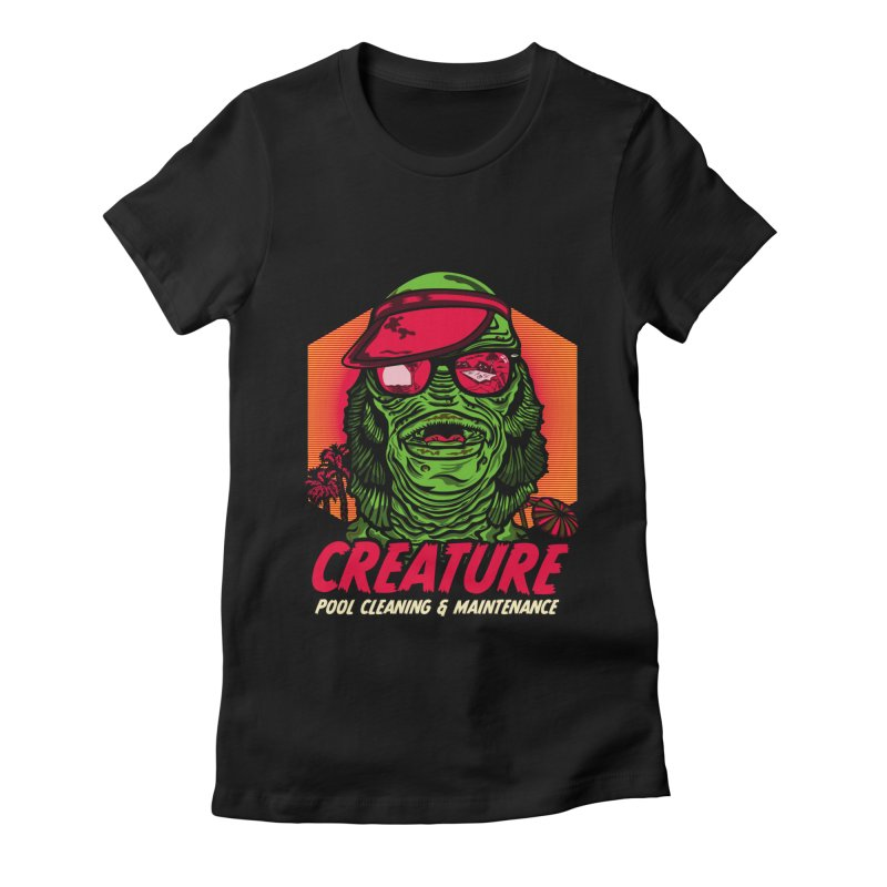 Creature Women's Fitted T-Shirt by malgusto