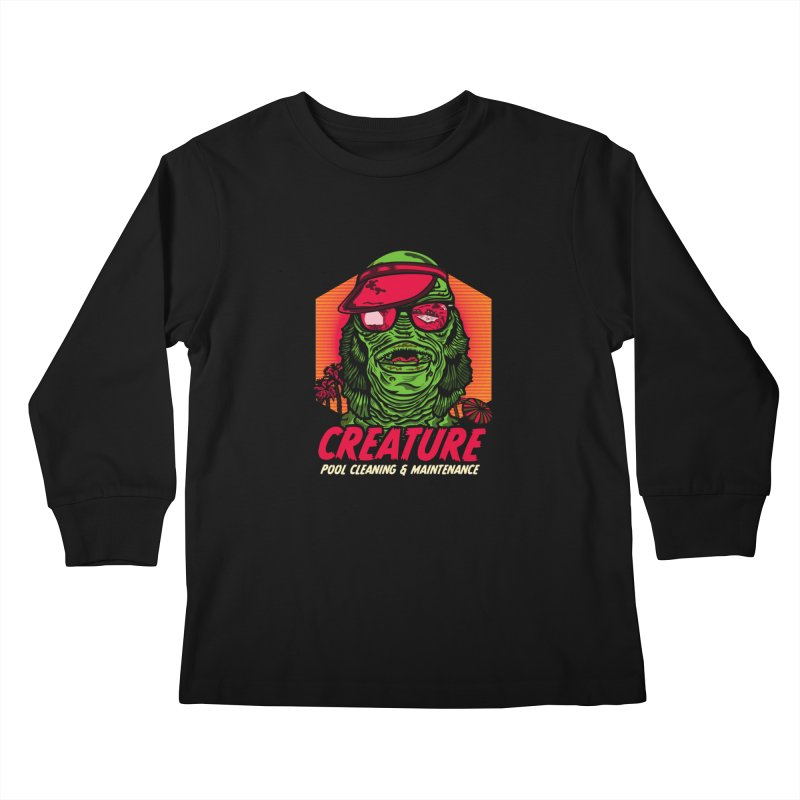 Creature Kids Longsleeve T-Shirt by malgusto