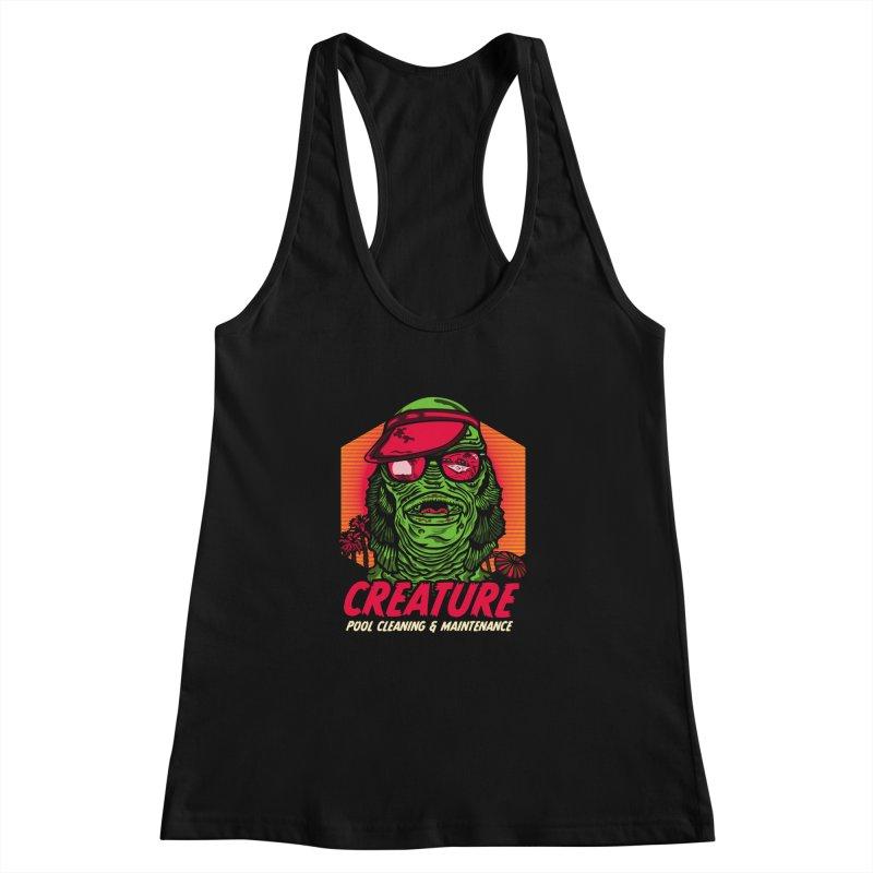 Creature Women's Racerback Tank by malgusto