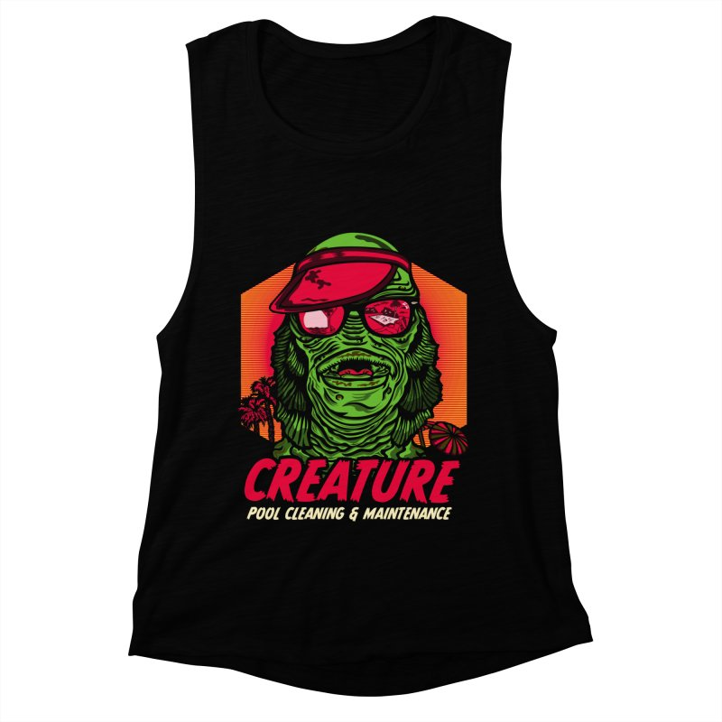 Creature Women's Muscle Tank by malgusto