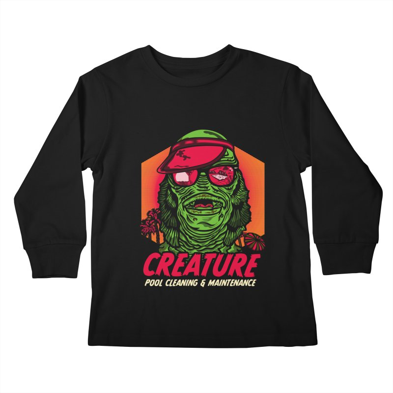 Creature Kids Longsleeve T-Shirt by malgusto